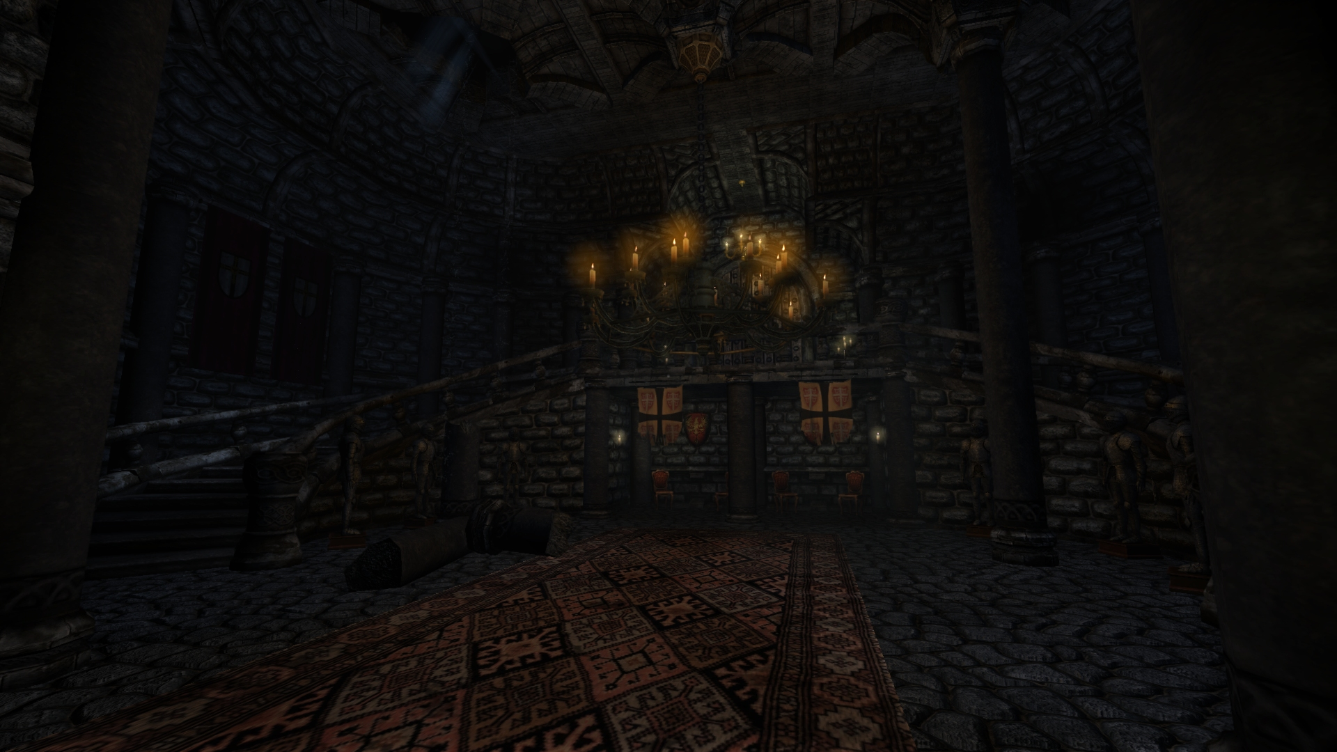 Main Hall Image Castle Dorian Full Version Mod For
