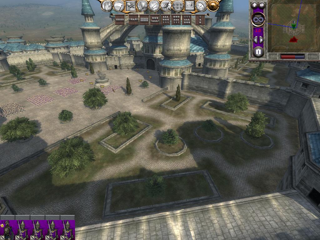 how to buy castles medieval total war 2