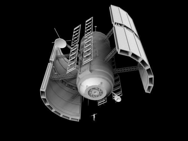 Vega Satellite Image Starfighter Nexus The Nexus