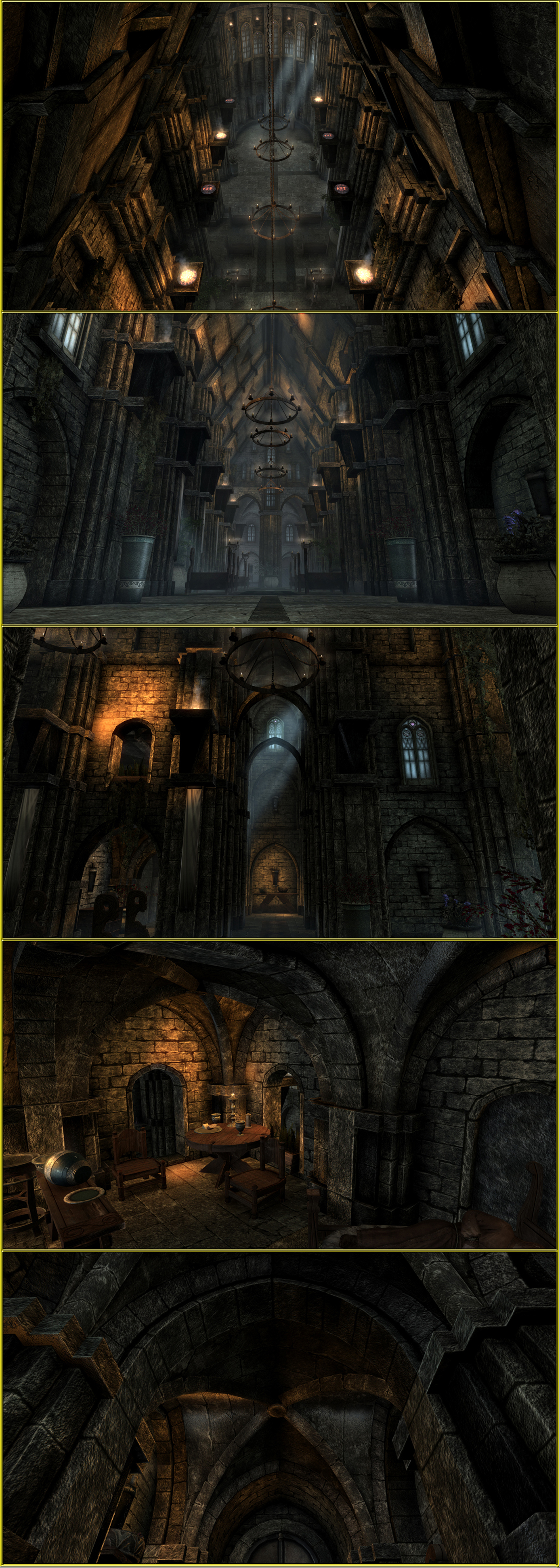 temple of the nine - gothic architecture image