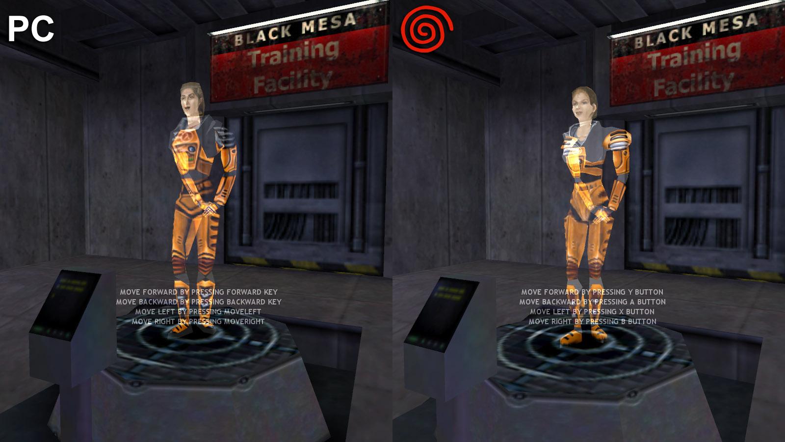Holo Image Half Life Dreamcast Mod For Half Life Mod Db