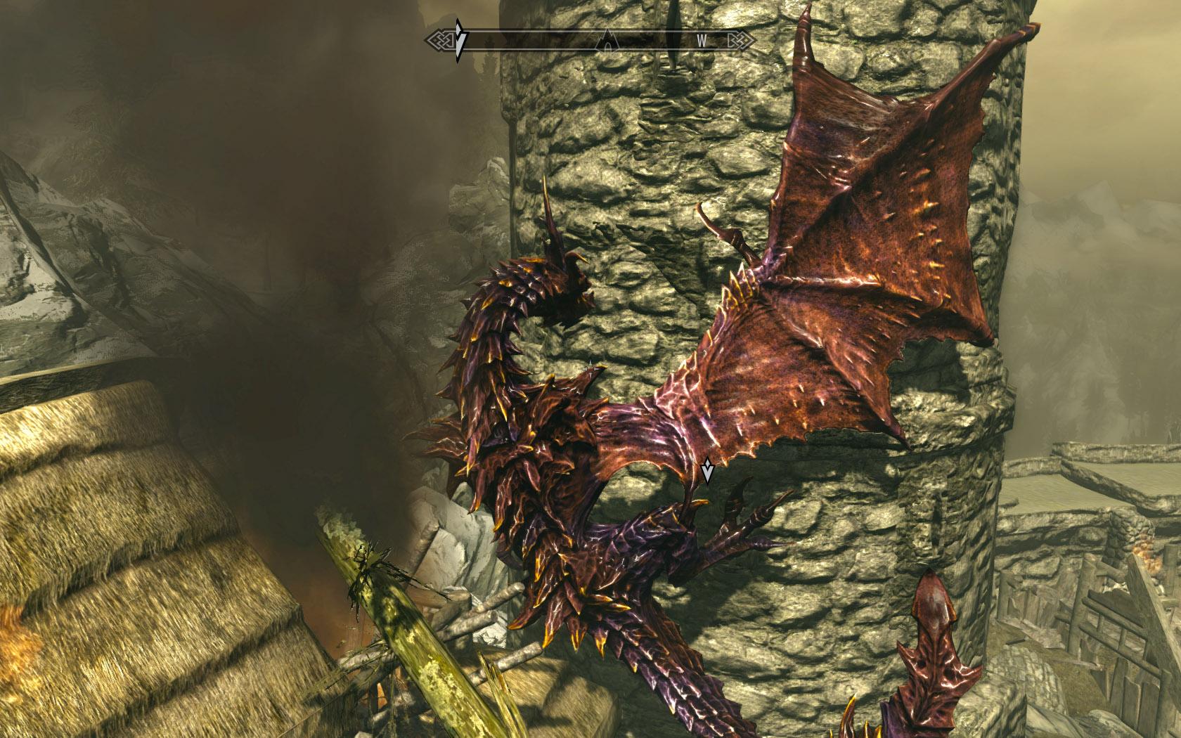 Skyrim Dragon Mod