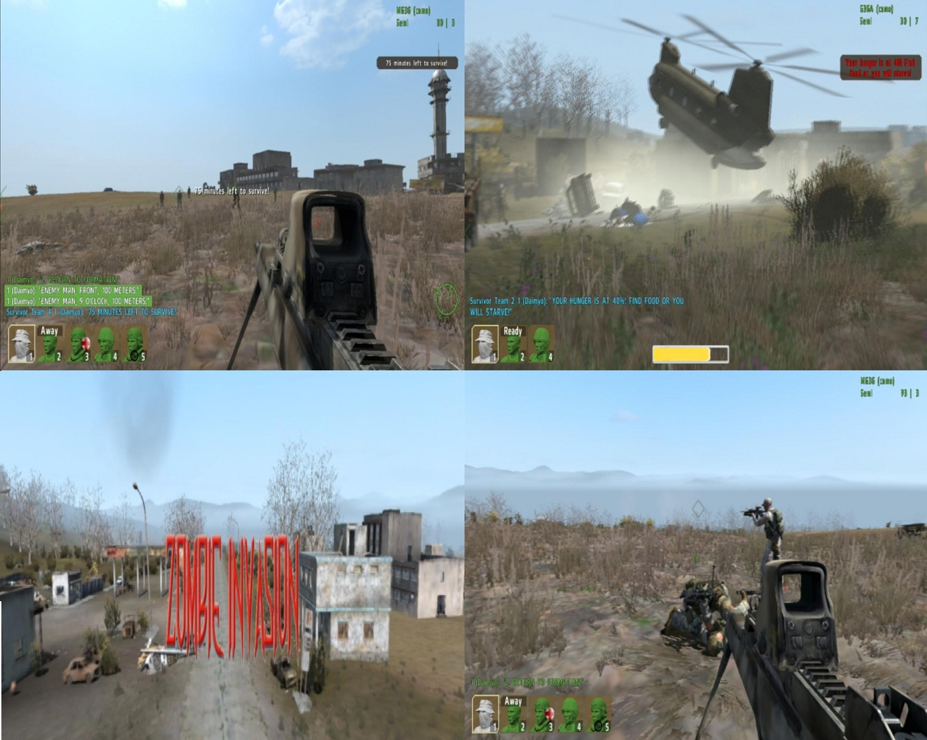Dynamic Zombie Sandbox mod for ARMA 2 Combined Operations