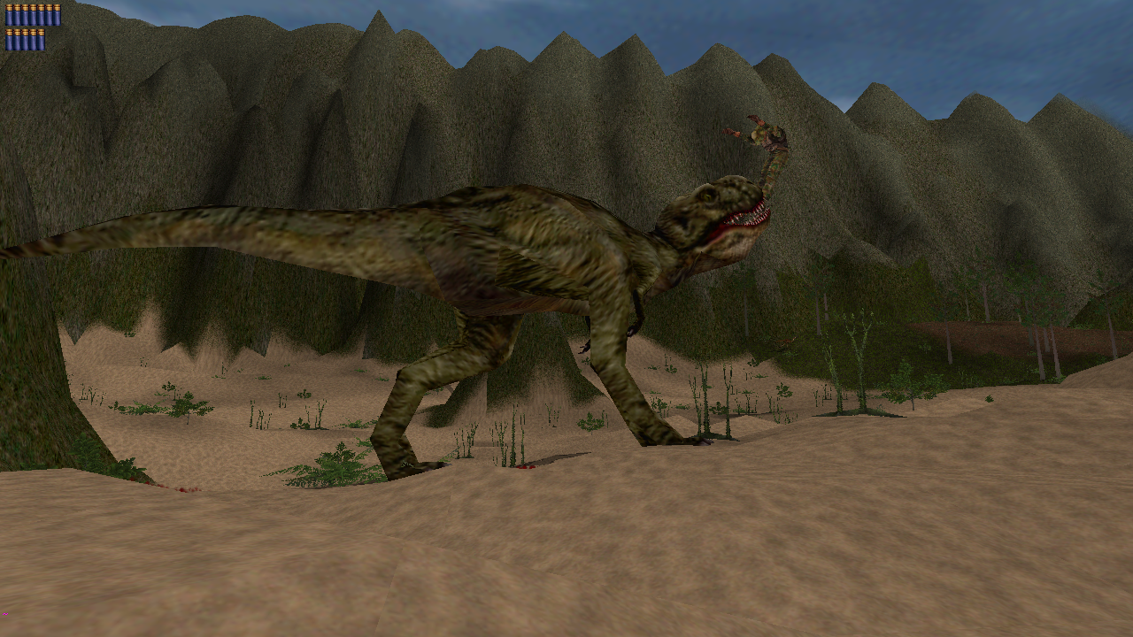 future great lake trex kills the player image