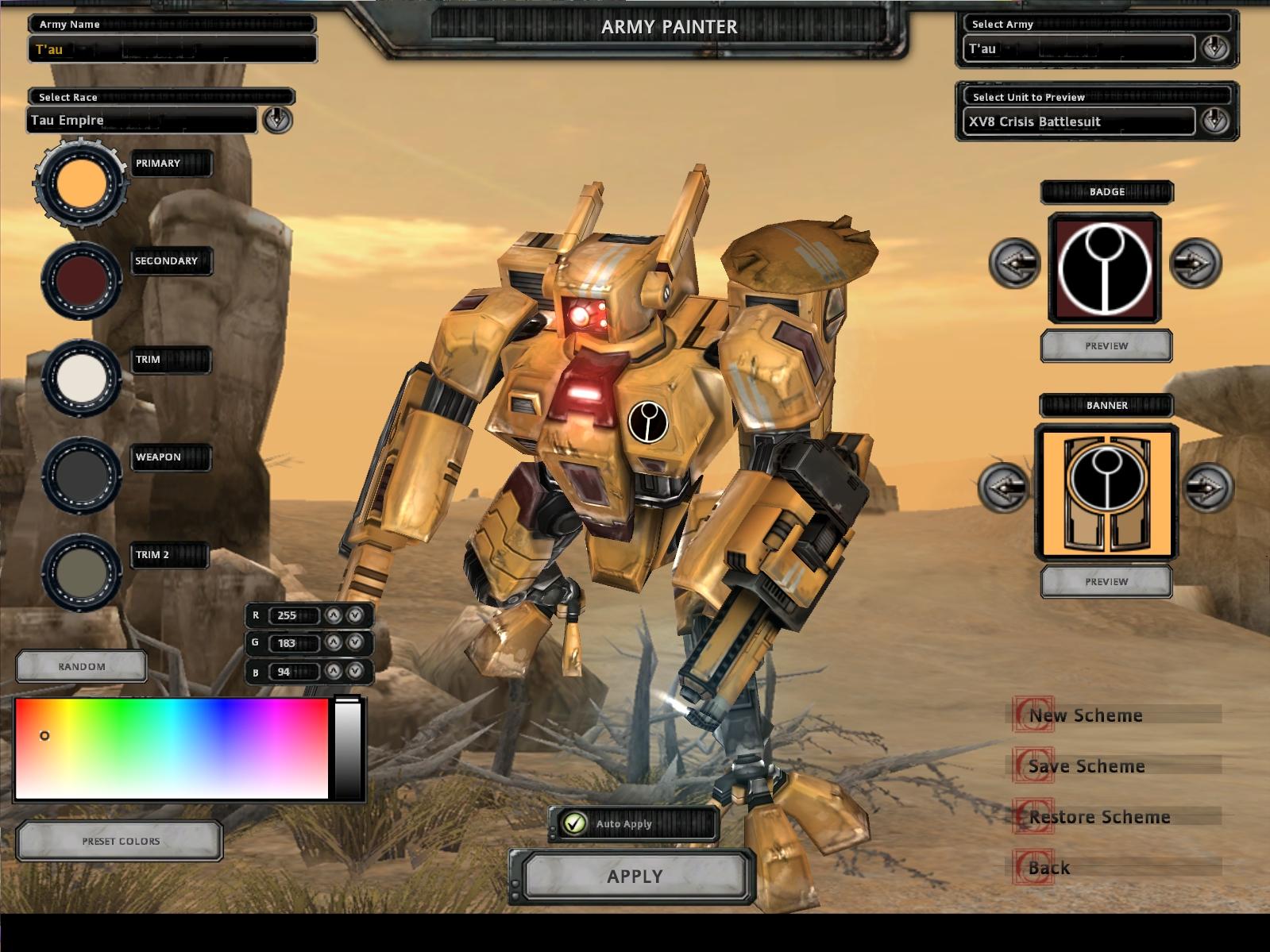 Crisis Suits wargear upgrades: Shield Generator image - Titanium