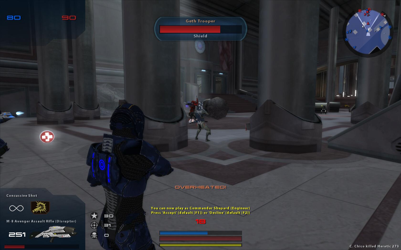New Hud V2 Image Mass Effect Unification Mod For Star
