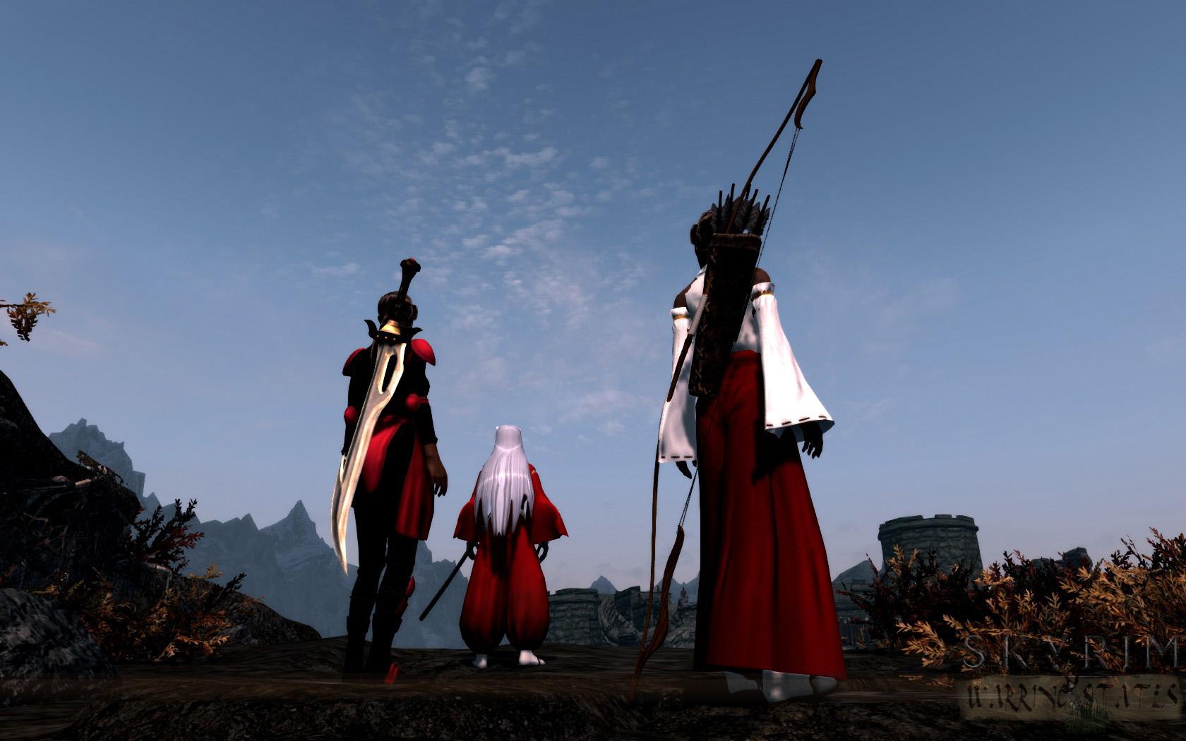 Multiple Followers image - Skyrim: Warring States mod for Elder