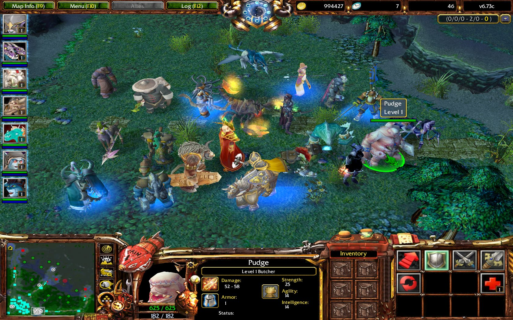 Warcraft iii patch 126a dota 2 mod
