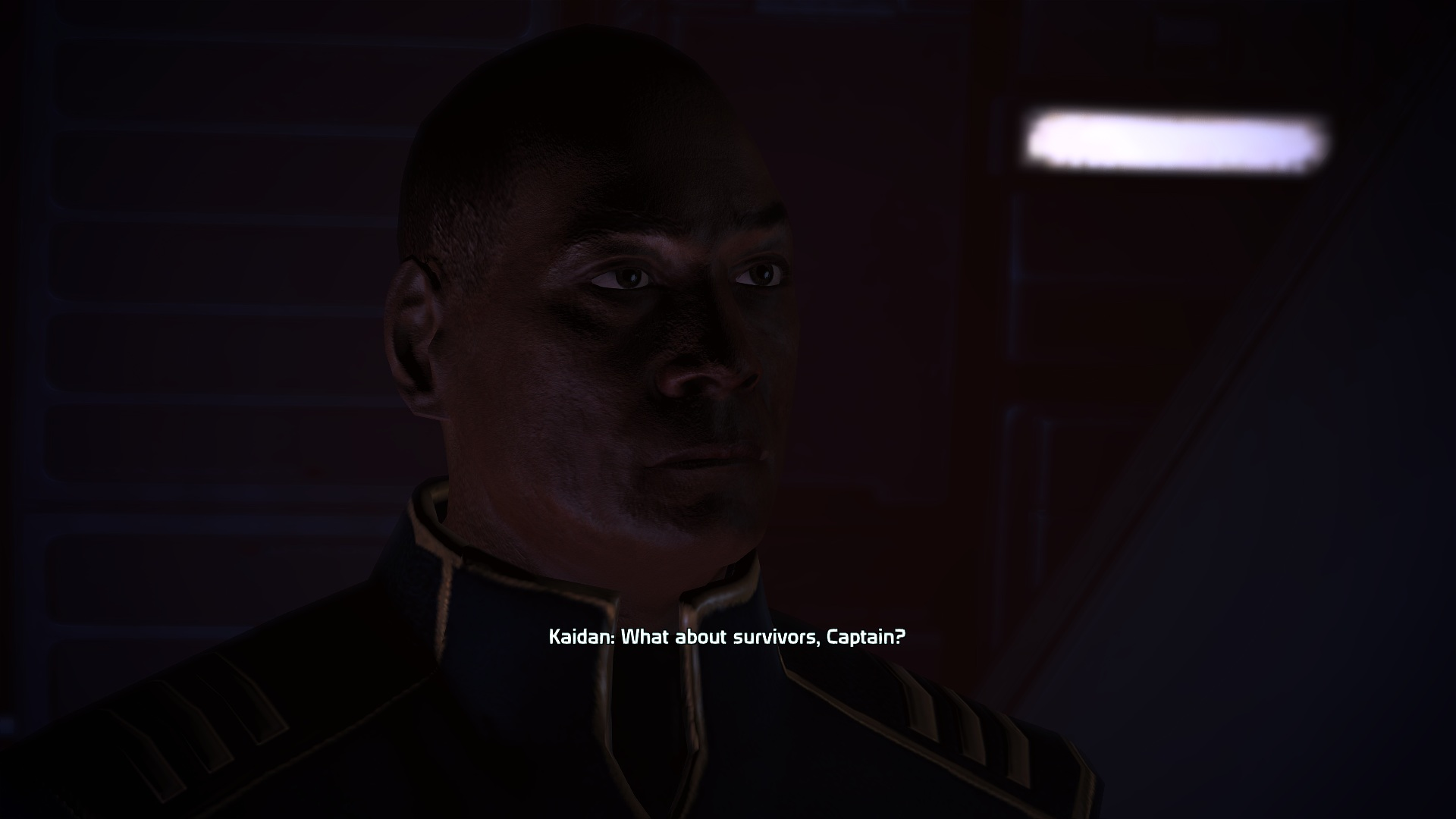 mass effect 1 meet with anderson
