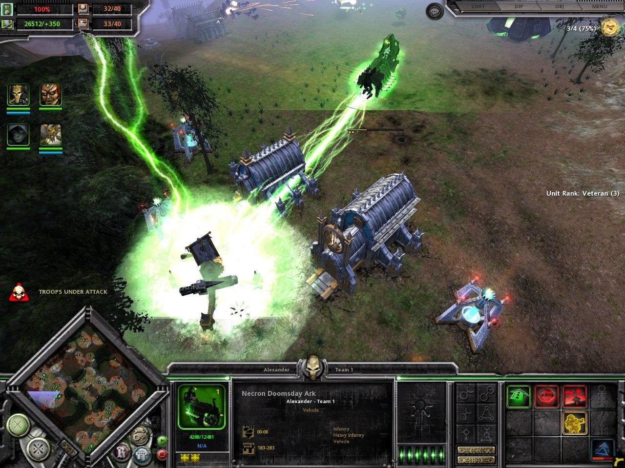 Necron Doomsday Ark  Firing Doomsday Cannon  image