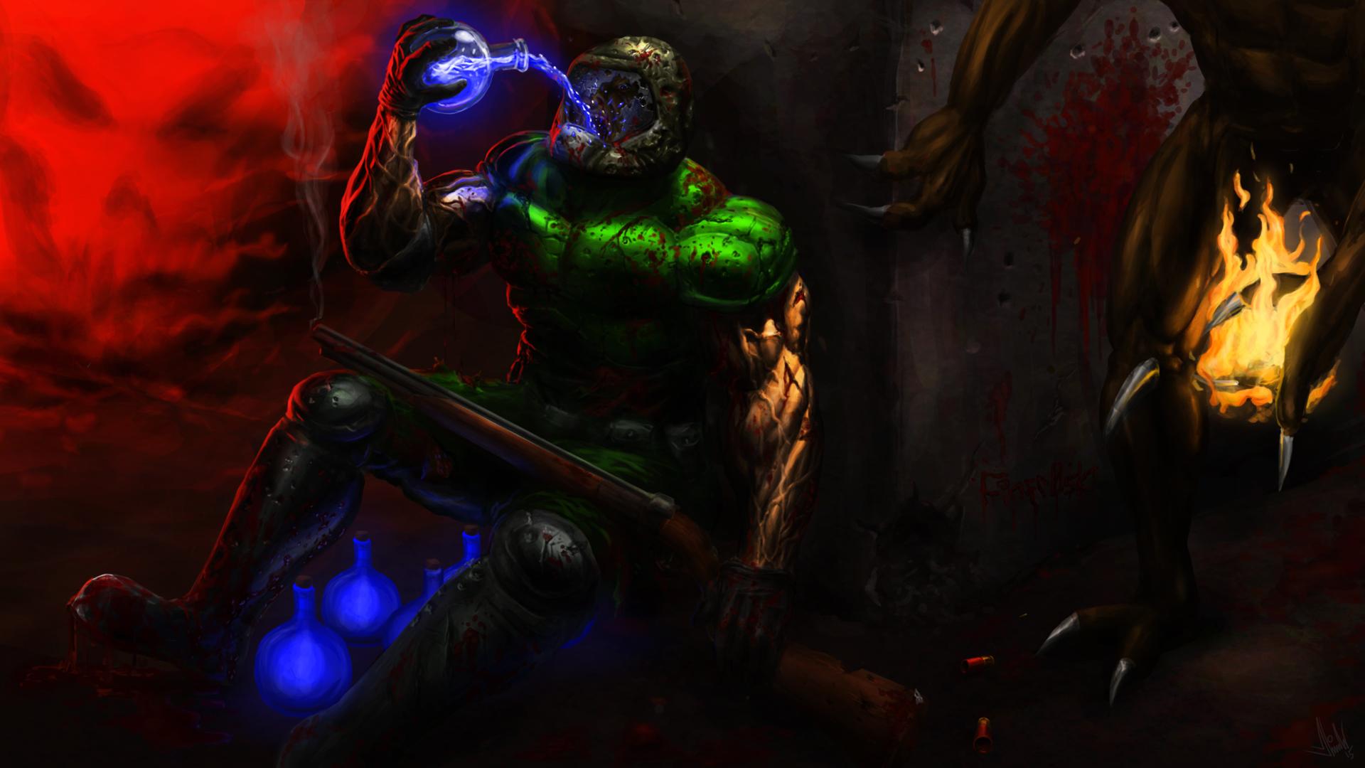 brutal doom wallpaper - photo #4