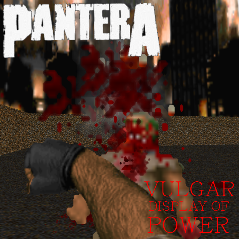 Pantera Vulgar Display of Power pngPantera Vulgar Display Of Power Ufc