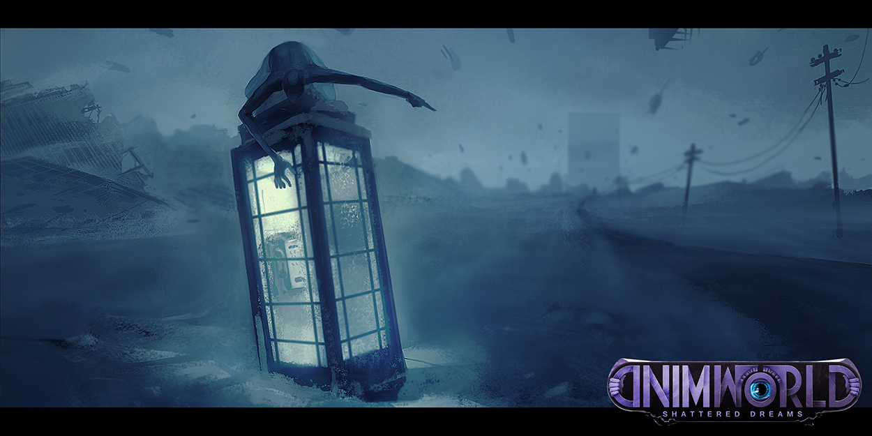 Concept art for Mindworld: Shattered Dreams