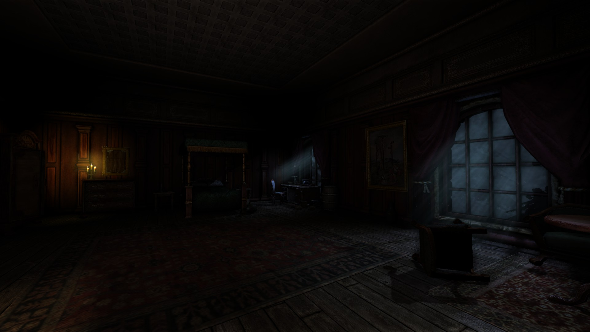 Bedroom Large View Image Black Forest Castle V2 Mod For