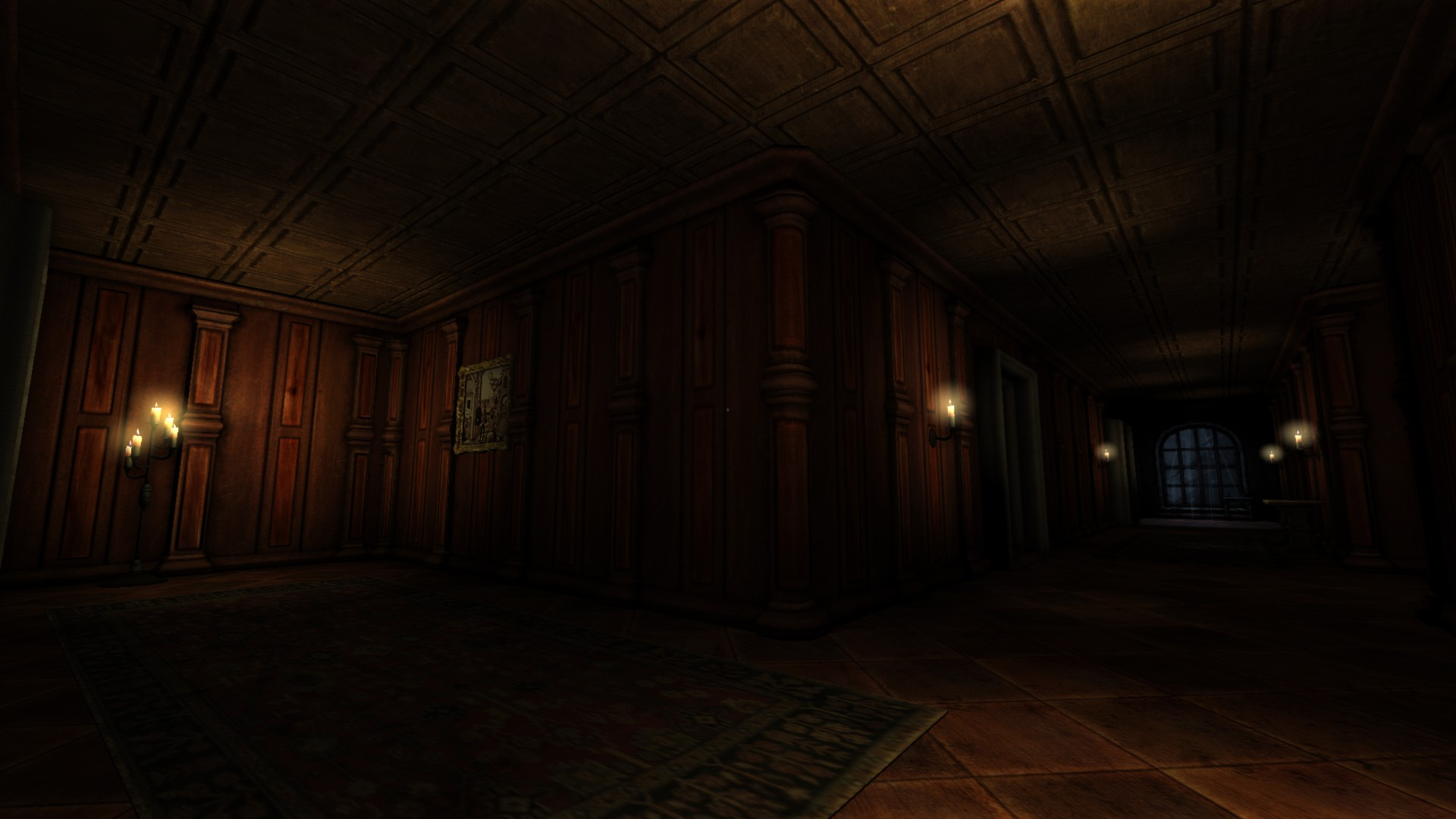 Hall Corner View Image Black Forest Castle V2 Mod For