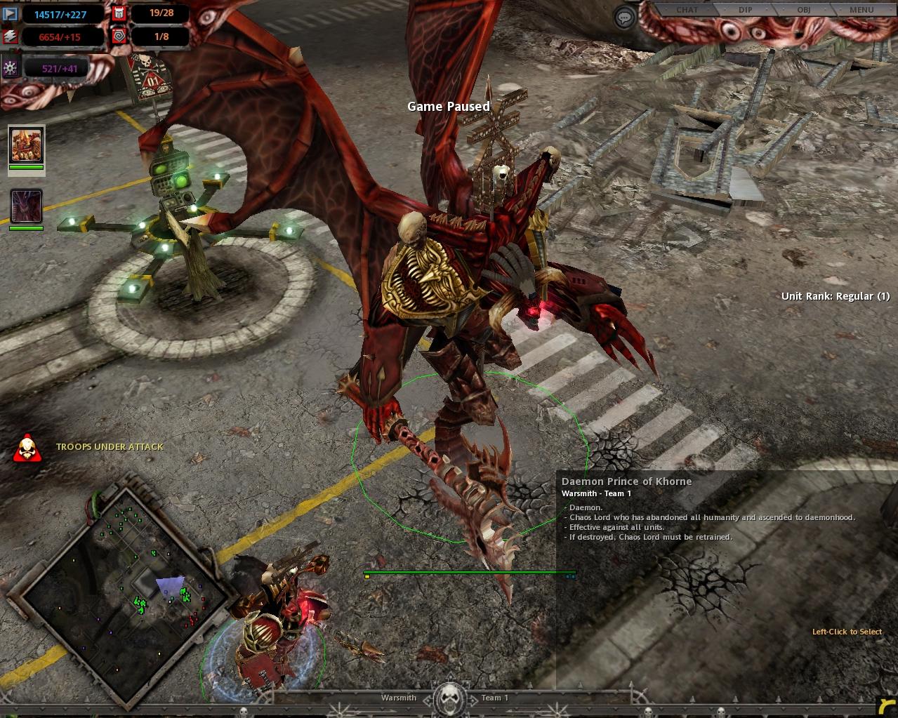 Warhammer 40,000 - Dawn of War: Dark Crusade : Patches
