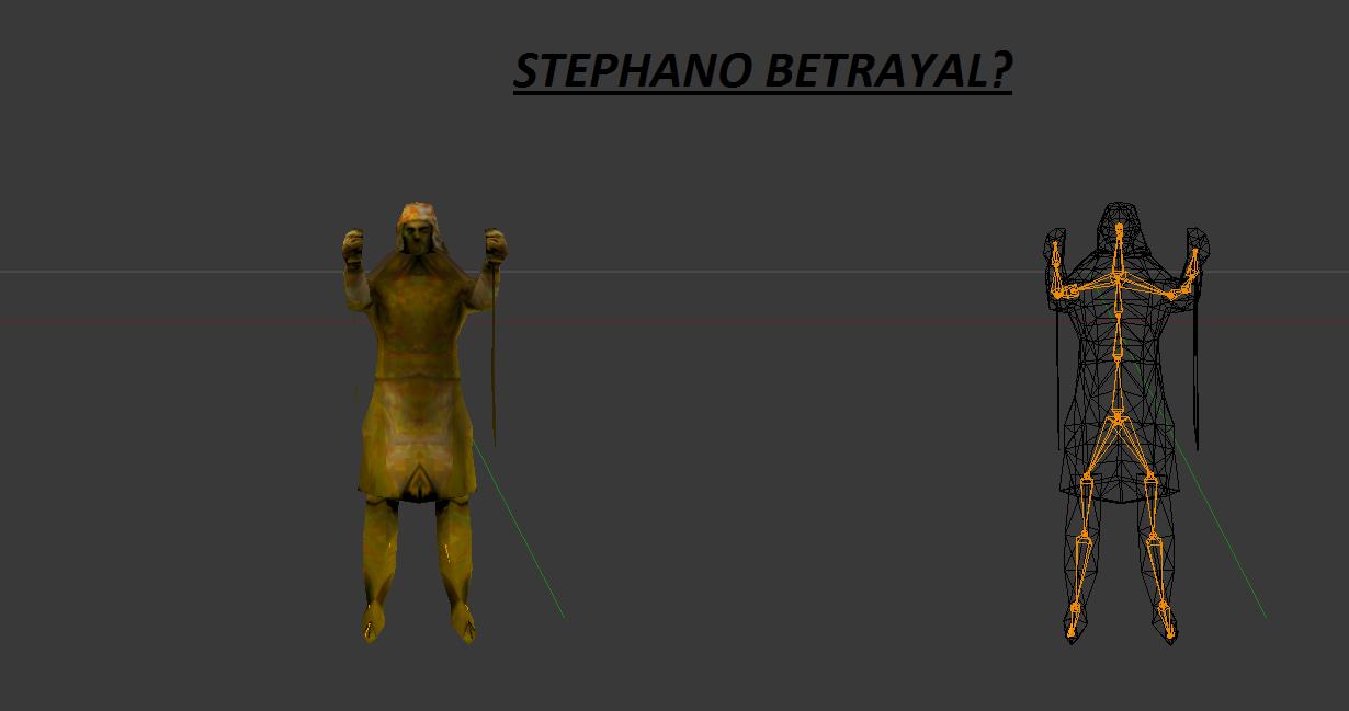 Stephano will make an apperance somewhere... image ...