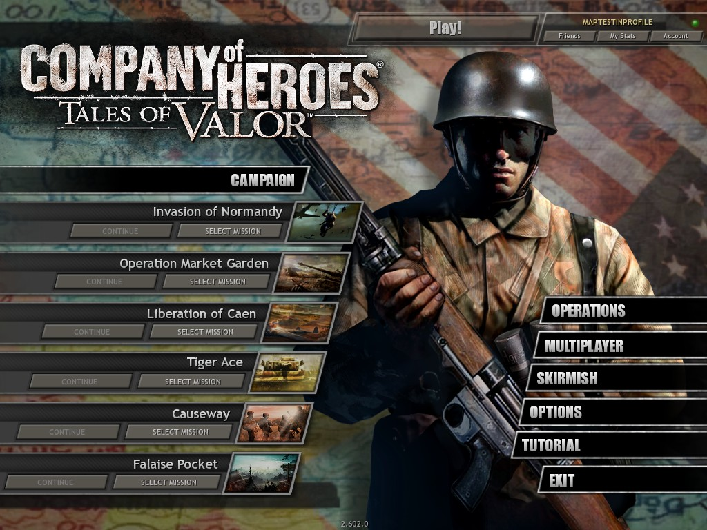 New Main Menu Art Image Company Of Heroes Vietnam 67 Mod For Company Of Heroes Opposing Fronts Mod Db