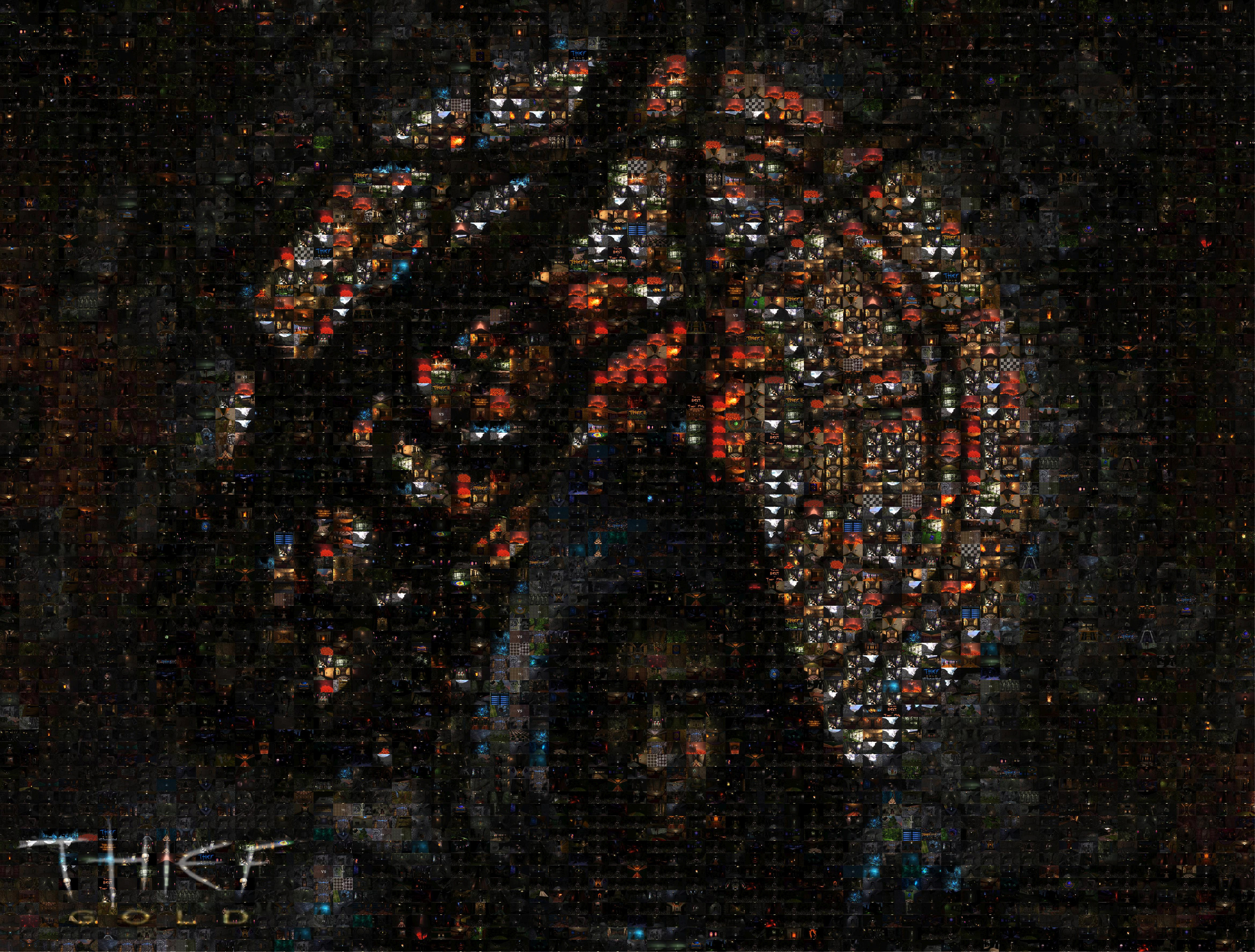 thief gold hd mosaic wallpaper image - mod db