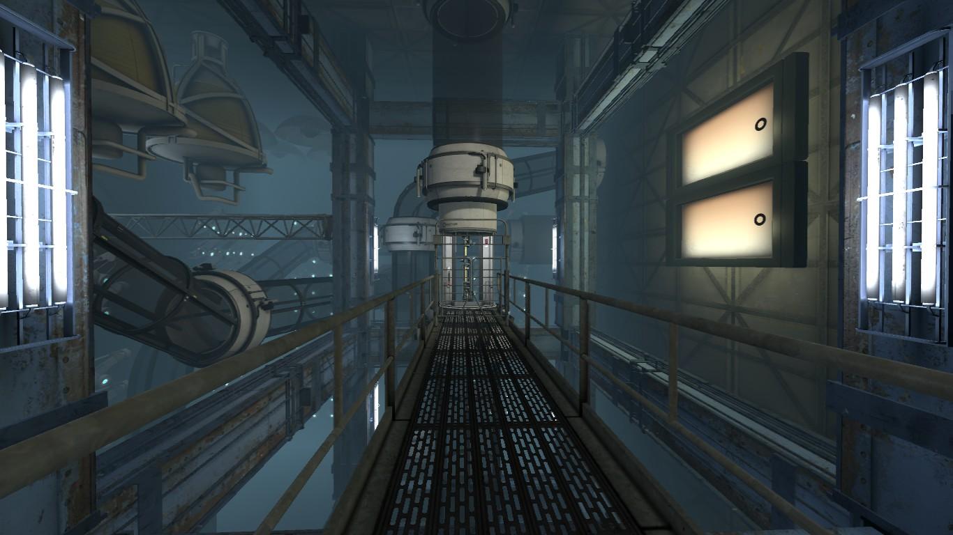 Bts Elevator Shaft Image Welcome Back Mod For Portal 2