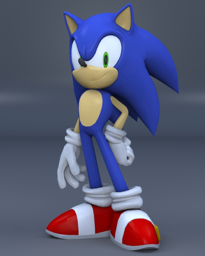 This is a photo of Dashing Images of Sonic