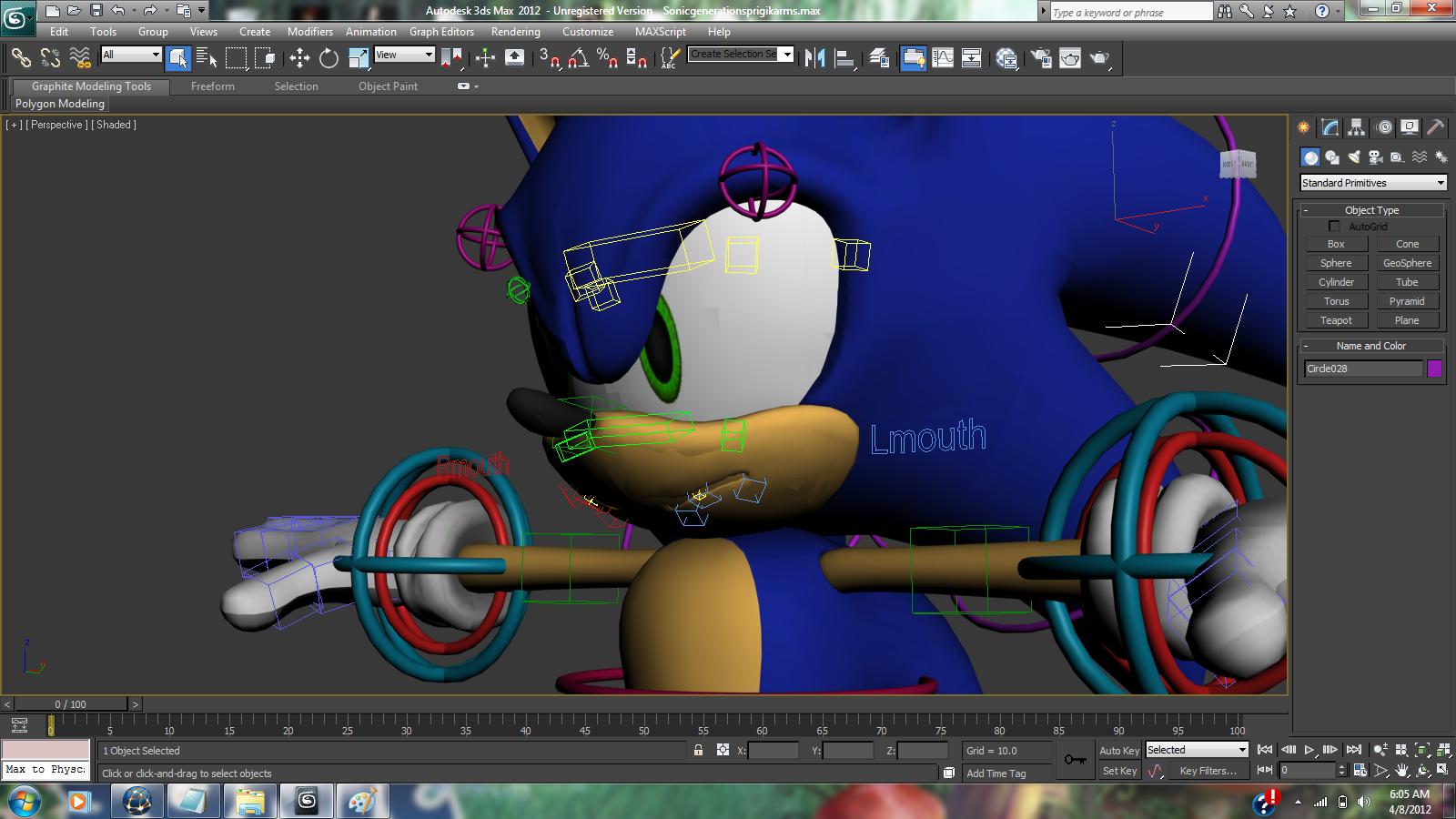 Sonic 3d Model Image Mod Db