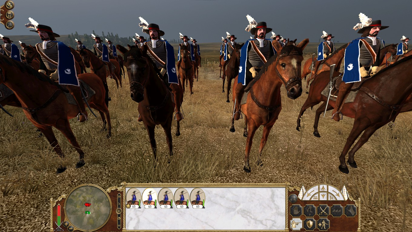Gendarmes de la Garde, Colonialism 1600AD, Empire Total War mod