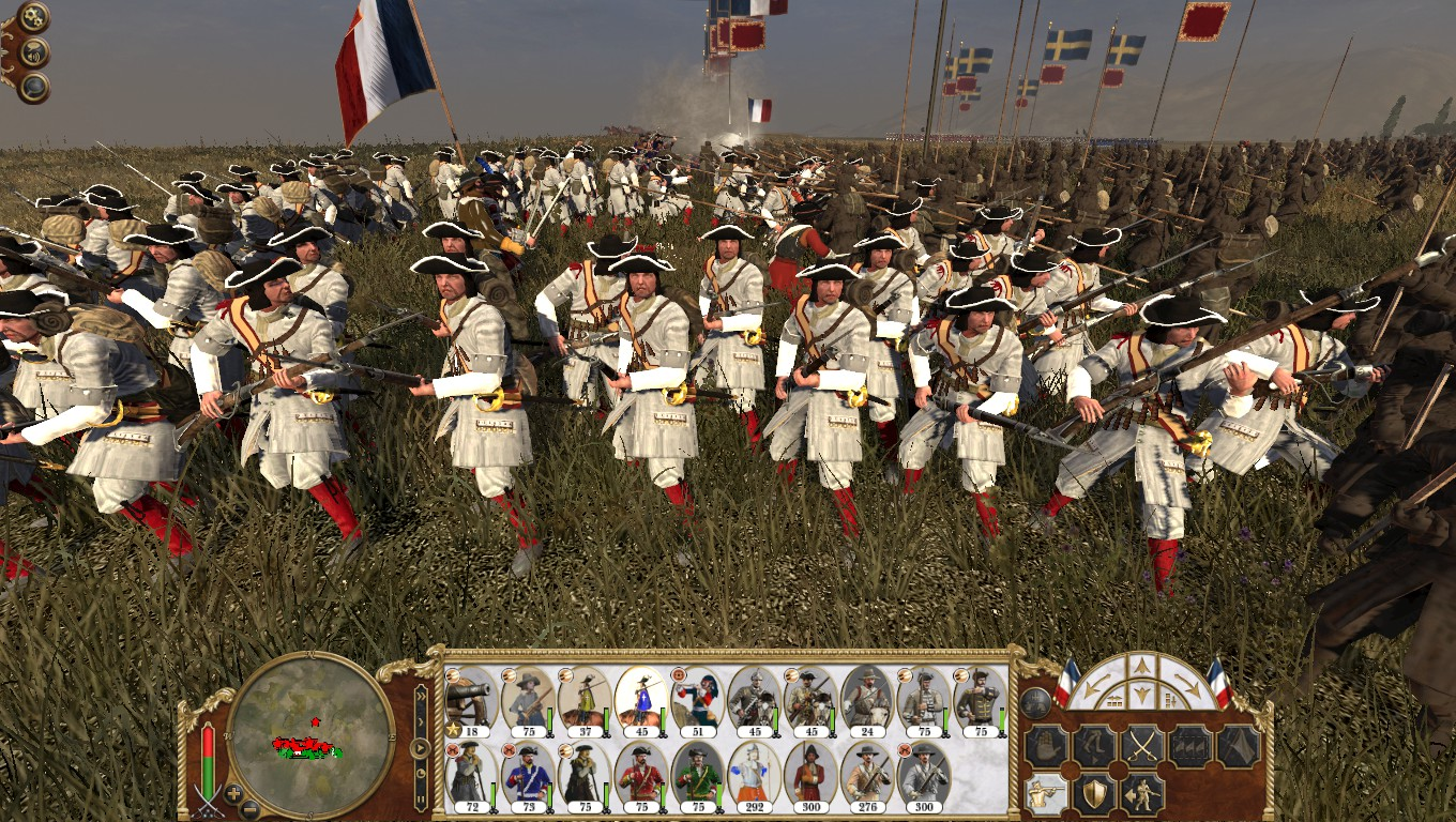 French Gardes Francaises, Colonialism 1600AD, Empire Total War mod
