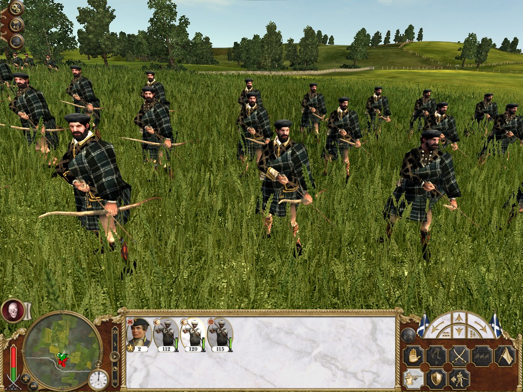 Scots Highland Archers, Colonialism 1600AD, Empire Total War mod