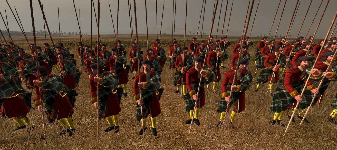 Earl of Argyll's Pikemen, Colonialism 1600AD, Empire Total War mod