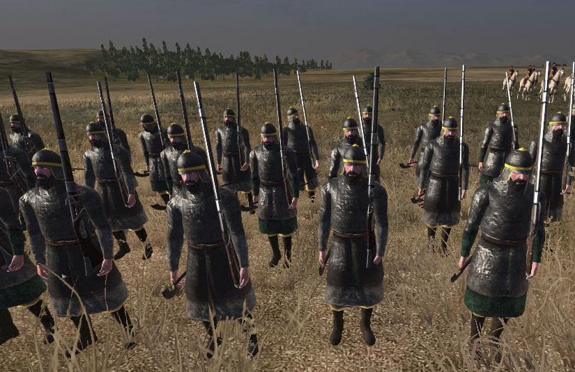 Russian Arquebusiers, Colonialism 1600AD, Empire Total War mod