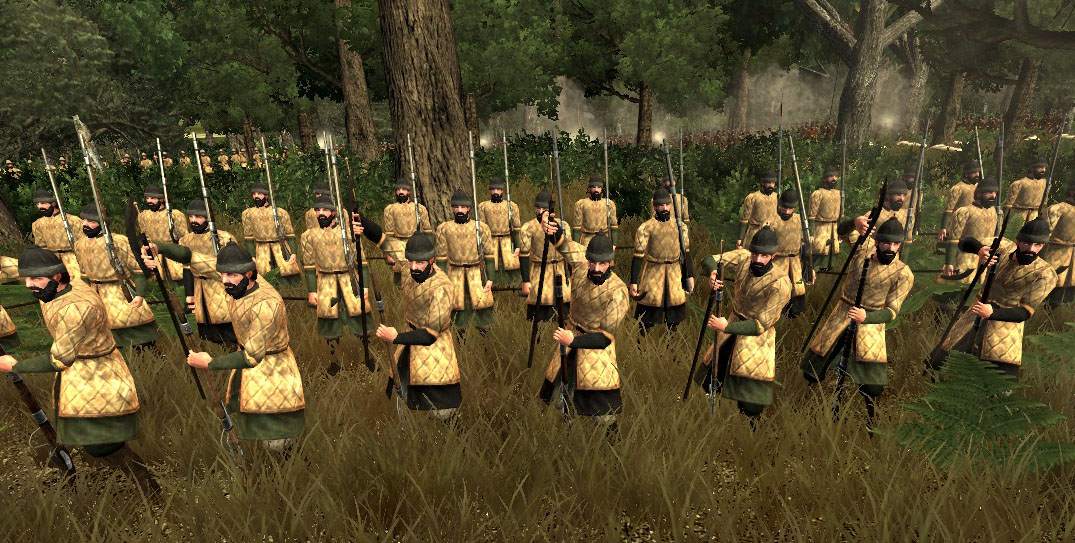 Russian Feudal Arquebusiers, Colonialism 1600AD, Empire Total War mod