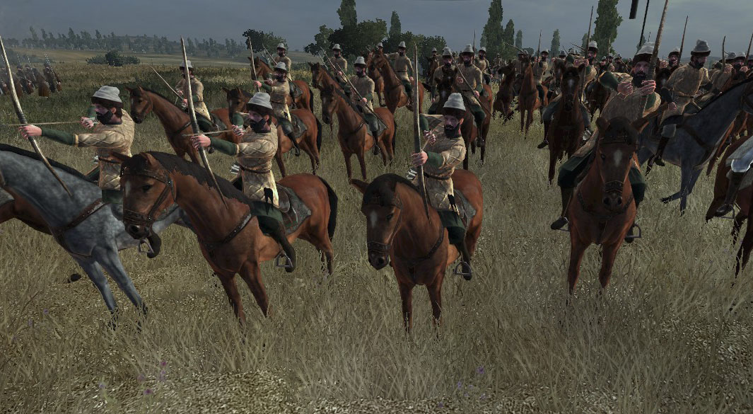 Russian Feudal Cavalry, Colonialism 1600AD, Empire Total War mod