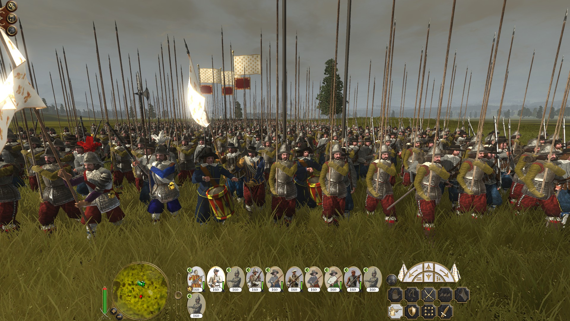French Heavy Pikemen (early) Colonialism 1600AD Empire Total War