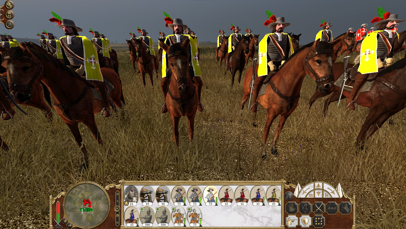 Paris Governor's Guard, Colonialism 1600AD, Empire Total War mod
