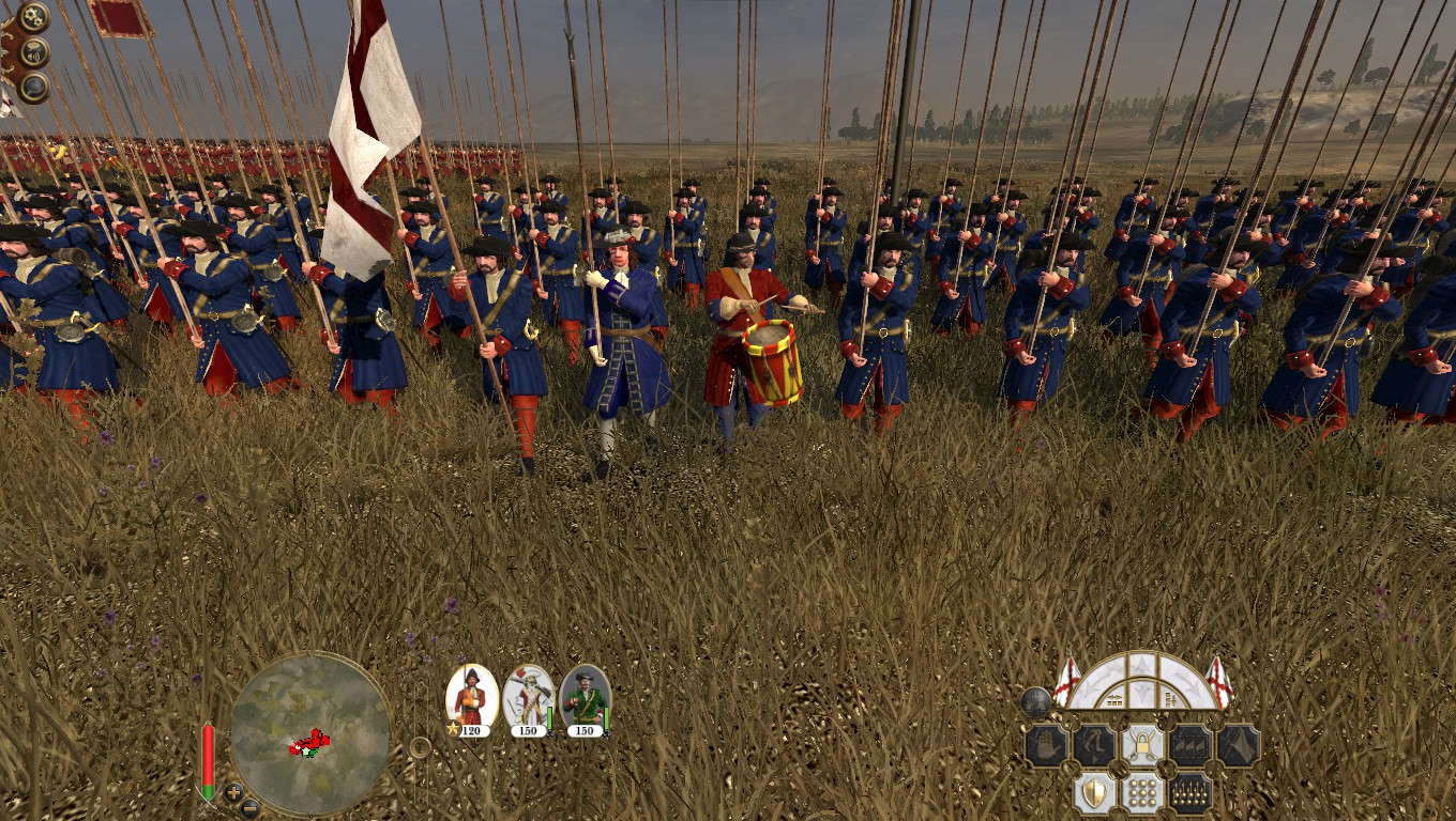 Earl of Baths Regiment, Colonialism 1600AD, Empire Total War mod