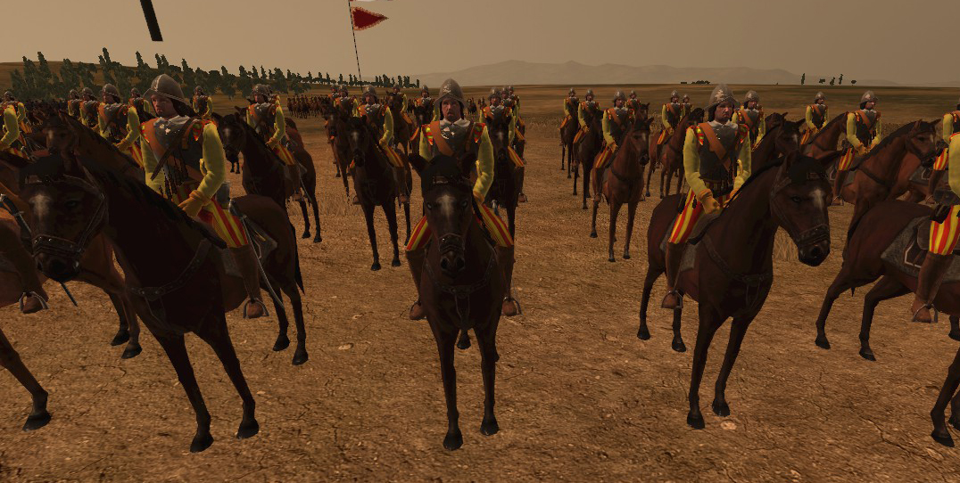 Spain Reformed Cuirassiers, Colonialism 1600AD, Empire Total War mod