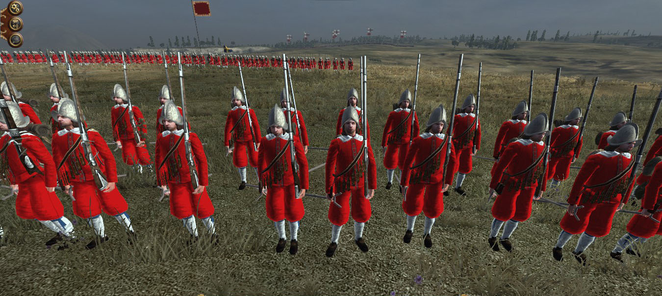 Swedish Red Regiment, Colonialism 1600AD, Empire Total War mod