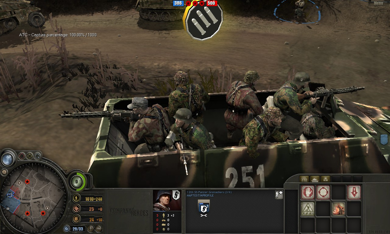Company of Heroes- Opposing Fronts Devastation Mod demo