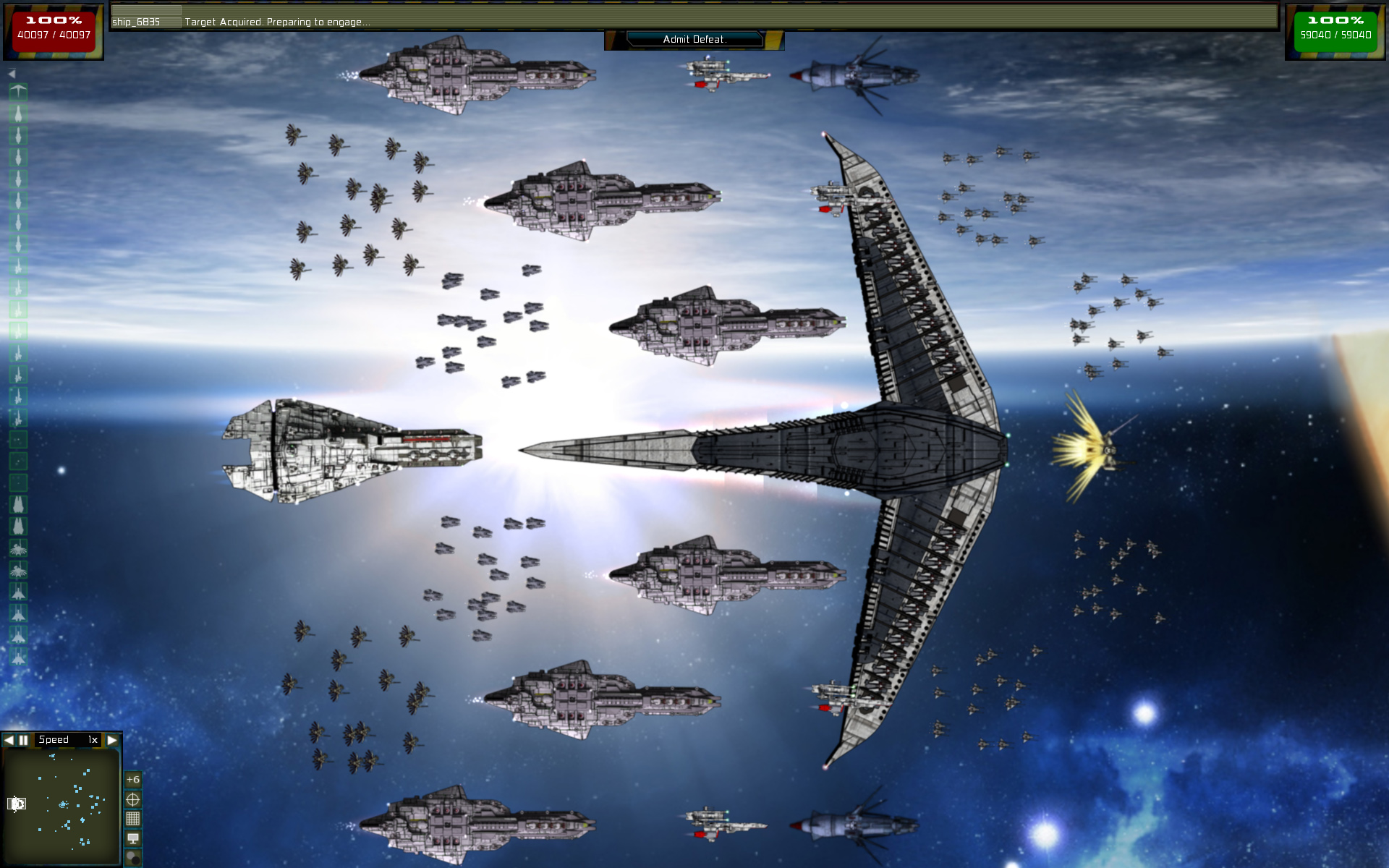 Big experimental ship image fantasy fleet 2 mass effect - Spacebattles com ...