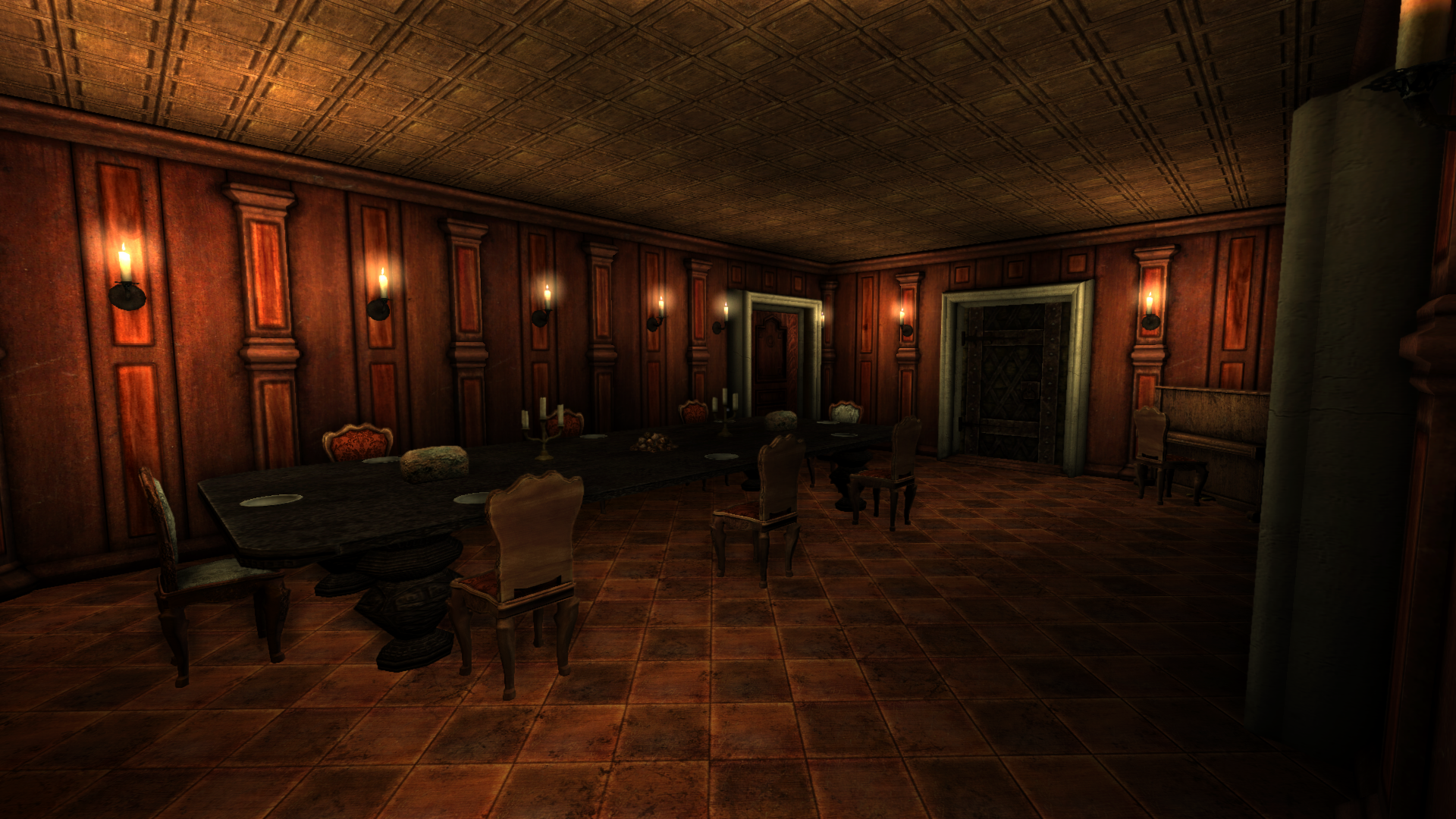 Dining Room image - Case 10-00: Murderous Mansion mod for Amnesia ...