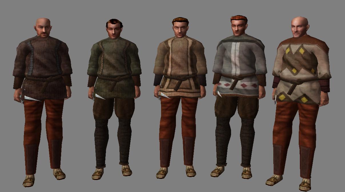 Skyrim Clothes Mod >> Colovian Clothing image - Province: Cyrodiil mod for Elder Scrolls III: Morrowind - Mod DB