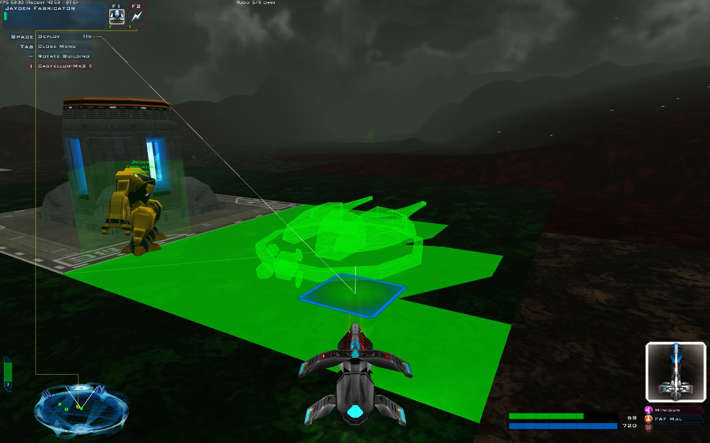 Test building an aenean guntower image bz2 community for Battlezone 2