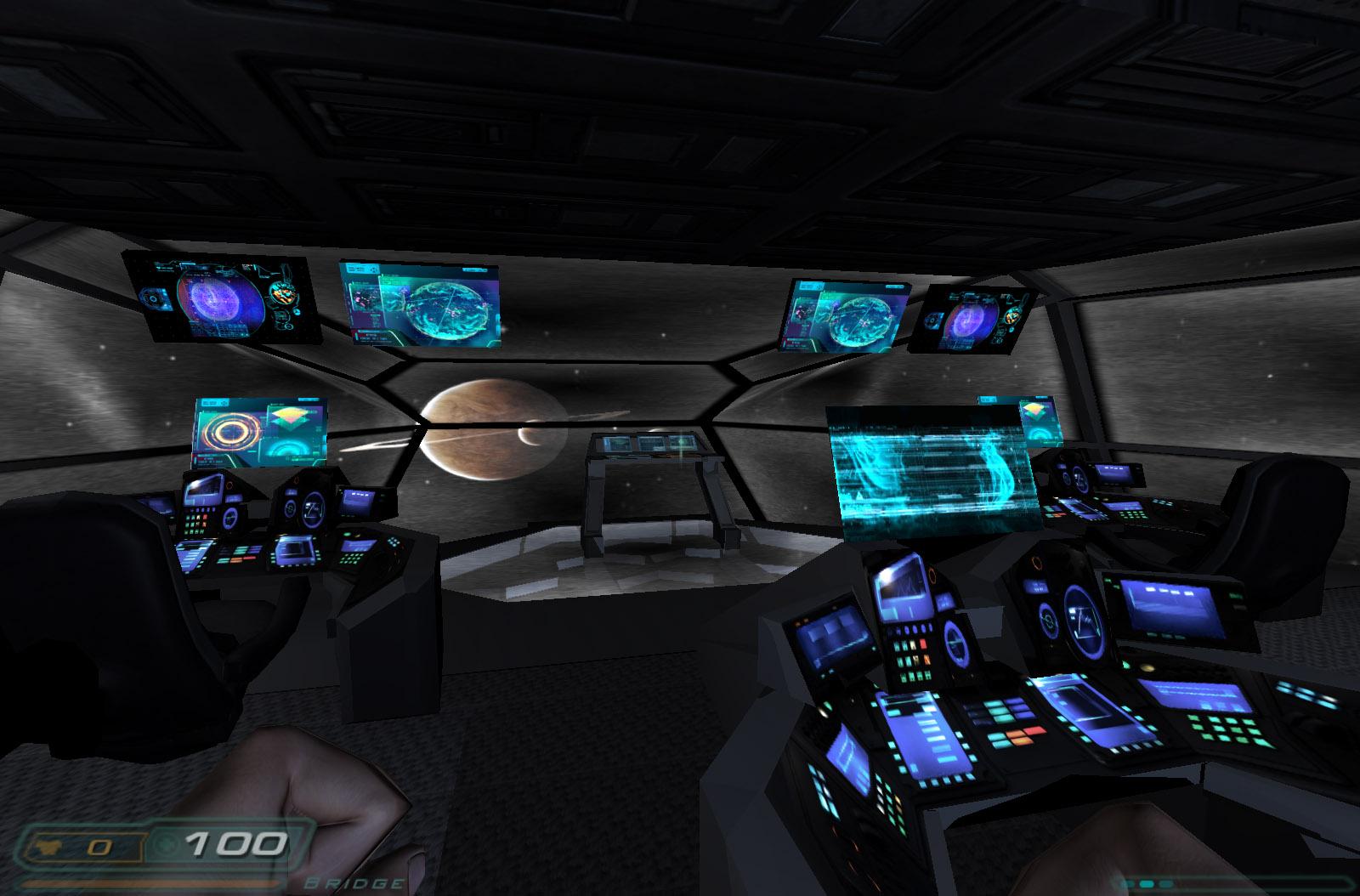 Bridge Consoles Image Prometheus Doom 3 Movie Mod For