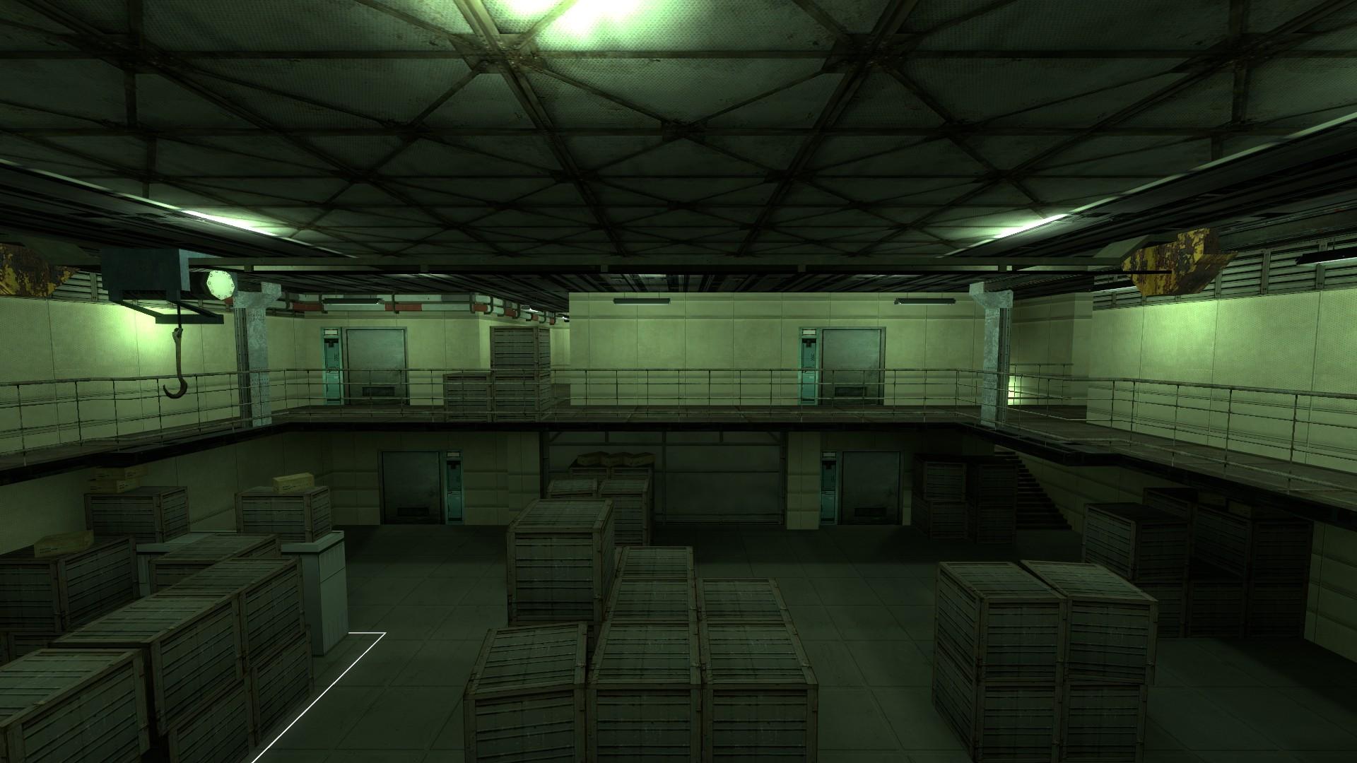 Strut F Warehouse Image ๖ۣۜĐ B S Metal Gear Solid Cs S