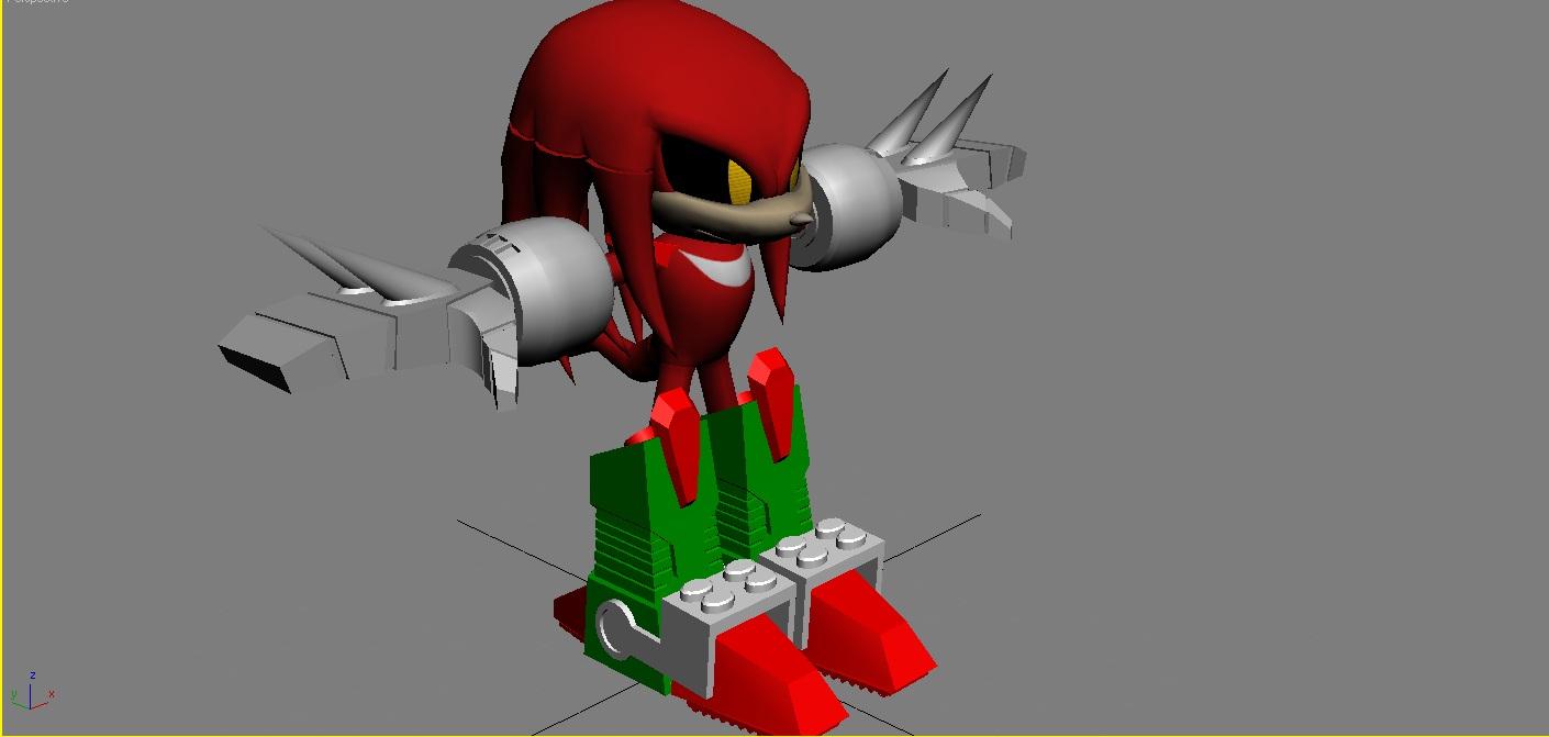 Knuckle's Chaotix: Metal Sonic's Revenge mod - Mod DB