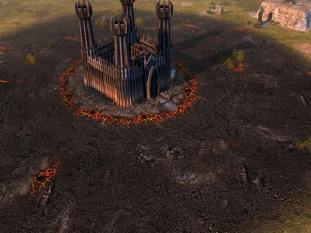 Mordor Camp Floor Image Battles Of The Third Age Mod For