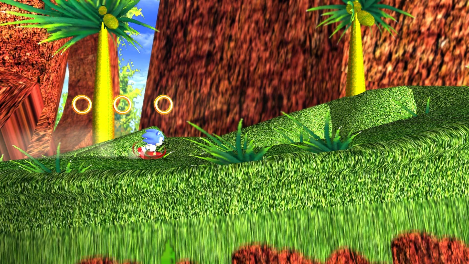 Angel Island Act 1 Classic Image Sonic Generations Knuckles Mod For Sonic Generations Mod Db