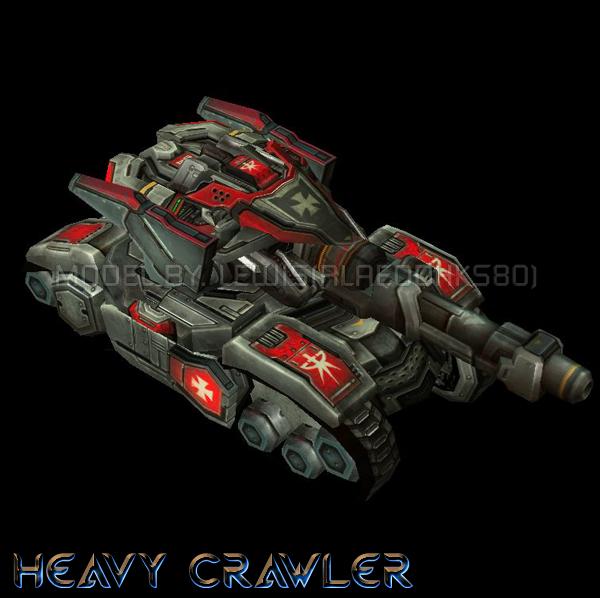 UED Heavy Crawler image - StarCraft: Burning Ground mod for ...
