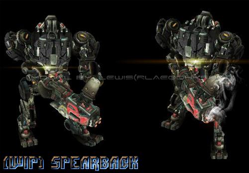 UED Spearback image - StarCraft: Burning Ground mod for StarCraft ...